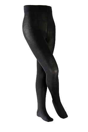 Großhandelsverkauf USA billig verkaufen schön in der Farbe Falke Kinder Strumpfhose Cotton Touch, black, 134-146, 13870