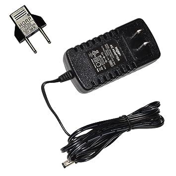 HQRP AC Adaptador para Panasonic EW3152 W/EW3153 W Monitor de presión Arterial/Tensiómetro