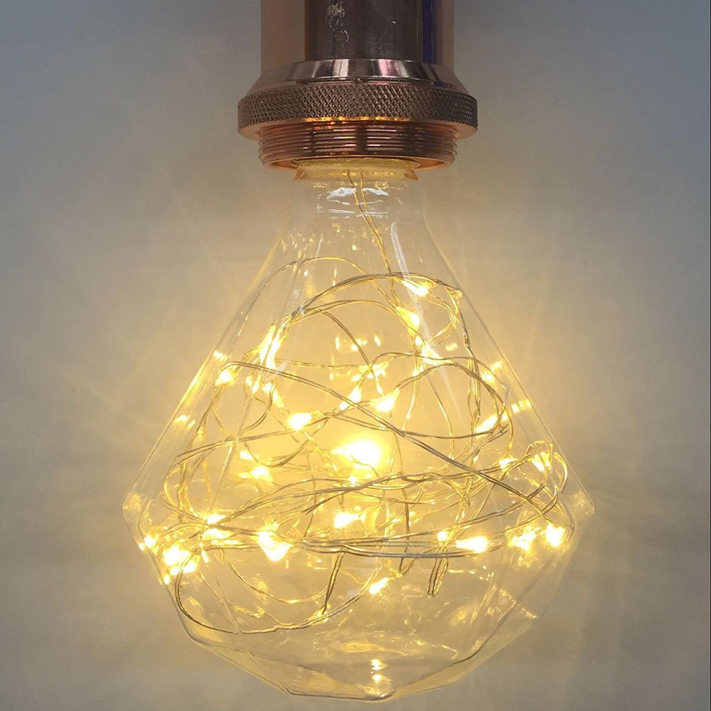 edison bulb lighting. Decorative Light Bulbs,XinRong LED Starry Sky Copper Wire Lightbulbs E27 2W Energy-Saving Retro Old Fashion Edison Bulb Lighting Indoor Home Pendent W
