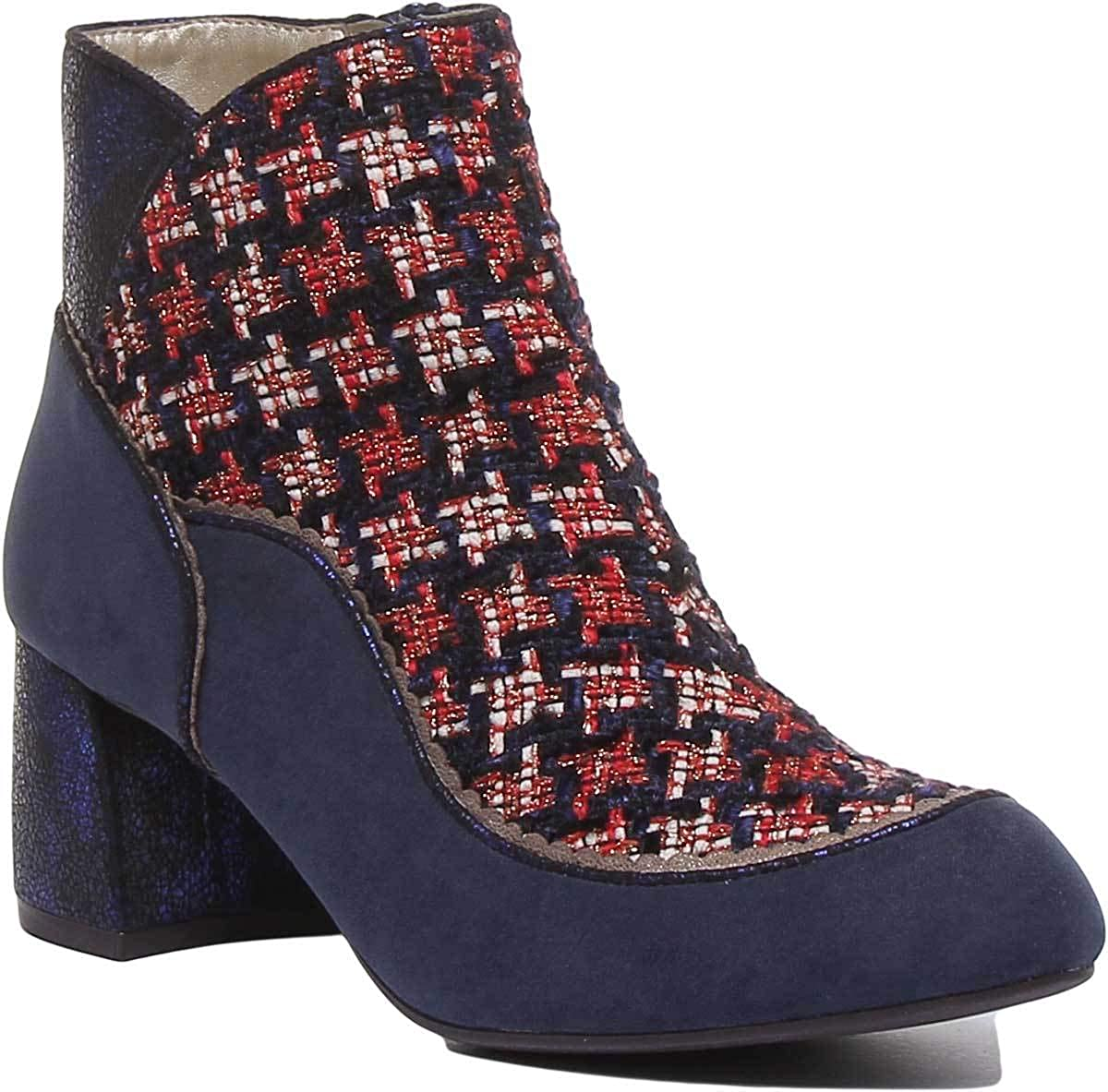 Ruby Shoo Karolina Femme Boots Navy