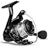 KastKing Valiant Eagle II Spinning Reel - Bald Eagle Edition Fishing Reel, All Carbon Fiber Frame and Rotor, Never-Rust…