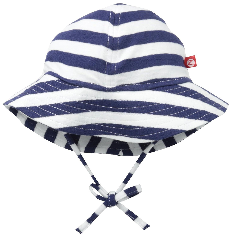 39f4f27c662 Amazon.com  Zutano Baby UPF 30+ Sun Protection Hat  Clothing
