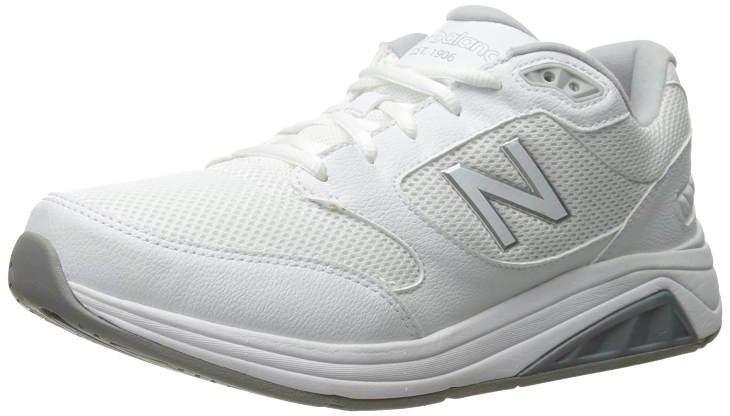 New Balance Men's Mens 928v3 Walking Shoe Walking Shoe 10.5 6E US|White/White