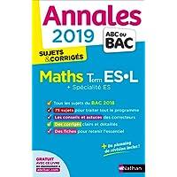 Annales ABC du BAC 2019 - Maths Term ES-L