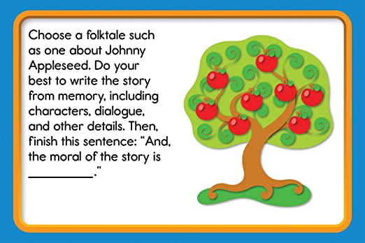 Counting Number worksheets johnny appleseed worksheets for 2nd grade : Amazon.com : Carson-Dellosa Task Cards Learning Cards Grade 3 ...