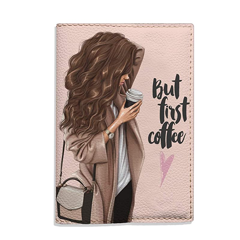 Blood Girl Brunette Night Background Leather Passport Holder Cover Case Travel One Pocket