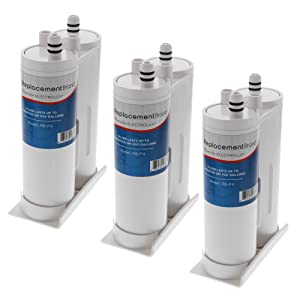 ReplacementBrand F4-3PK Electrolux EWF01/EWF2CBPA Pure Advantage Comparable Refrigerator Water Filter (Pack of 3)