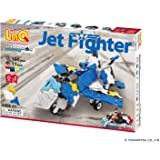LaQ Hamacron Constructor Jet Fighter - 5 Models, 190 Pieces - Creative Construction Toy