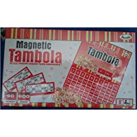 Magnetic Tambola with 90 Numbers and 600 Tickets (A Family Tambola Game)