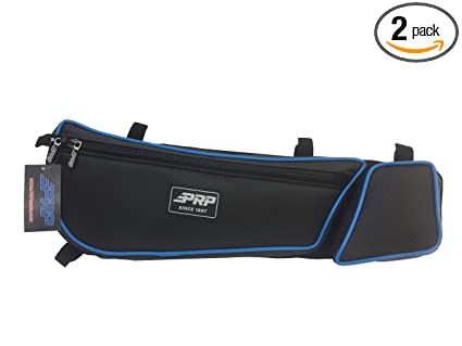 Amazon com: Can Am Maverick X3 XRC PRP door bag bags OCTANE BLUE Set