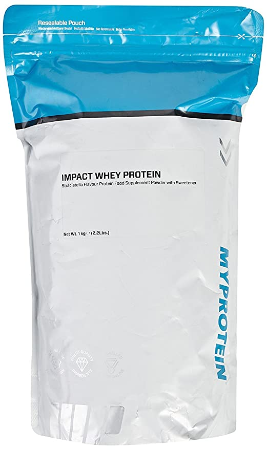 MyProtein Impact Whey Proteína de Suero, Sabor Stracciatella - 1000 gr