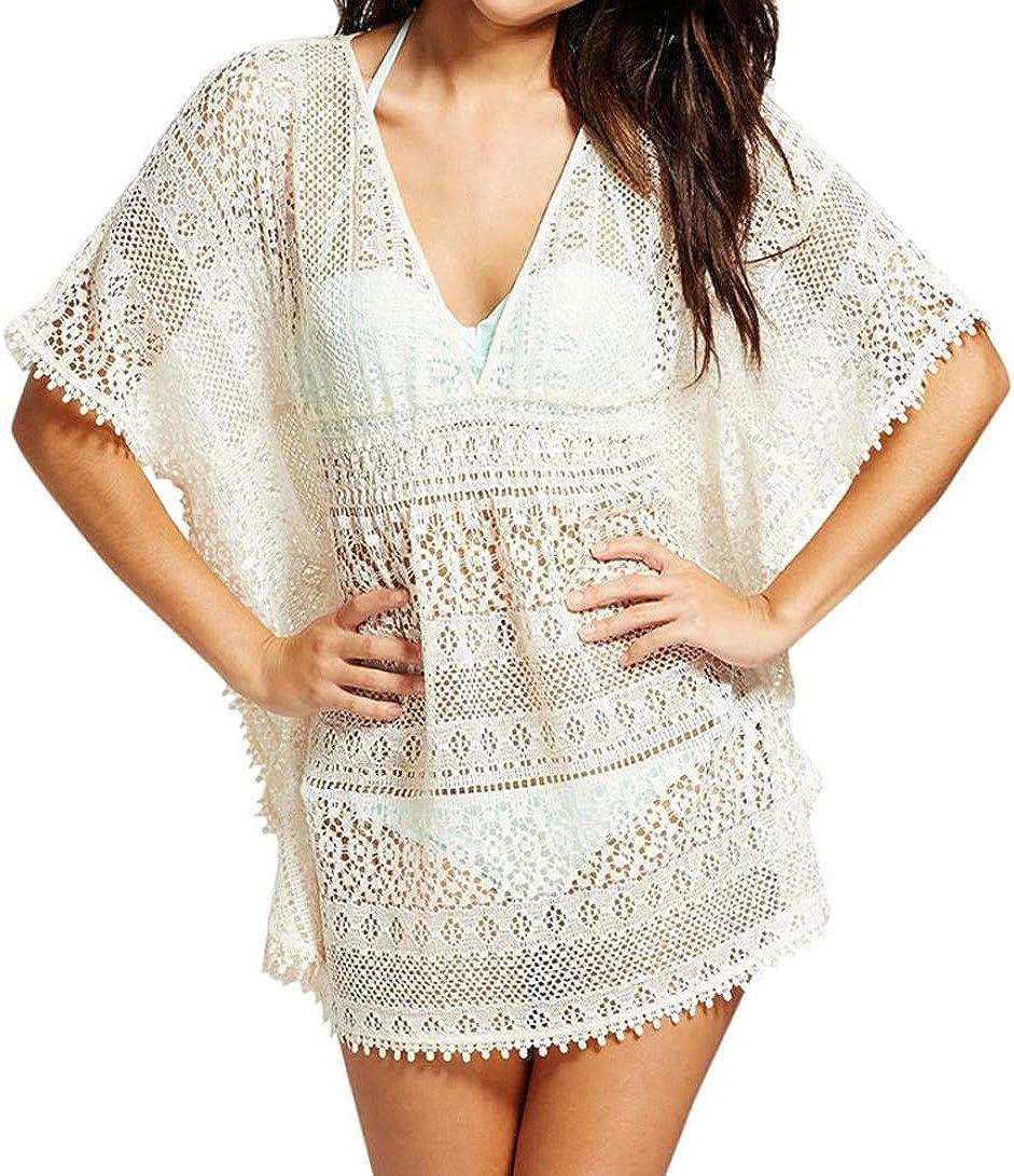 Easytoy Women Fashion Sling Bathing Bikini Swimwear Splice Beach Dress Cover UPS