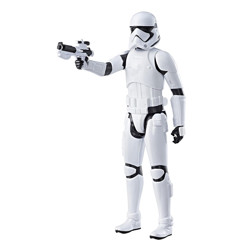 Star Wars C1432ES0 Last Jedi First Order Stormtrooper Figure, 12-Inch Hasbro