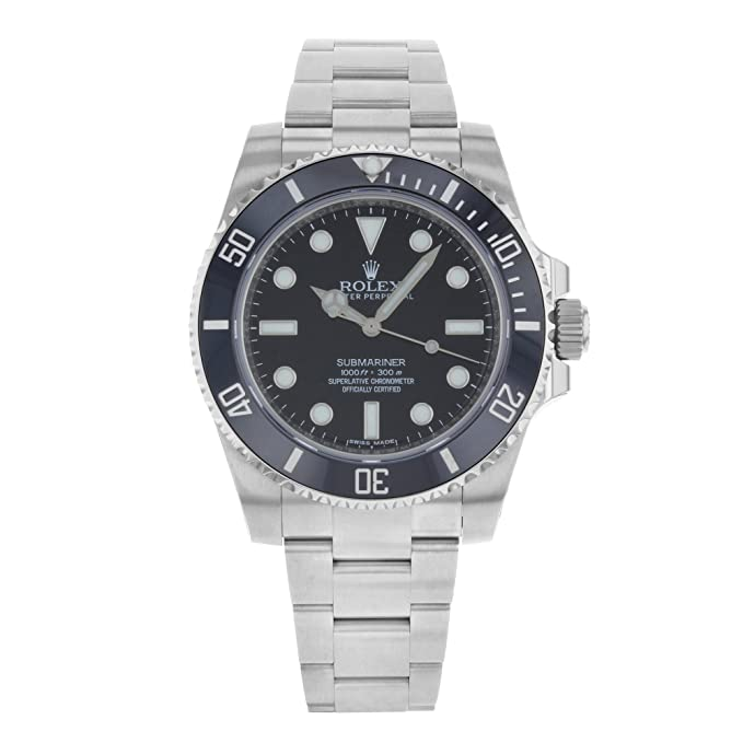 Rolex Submariner Black Dial Stainless Steel Automatic Men's Watch
