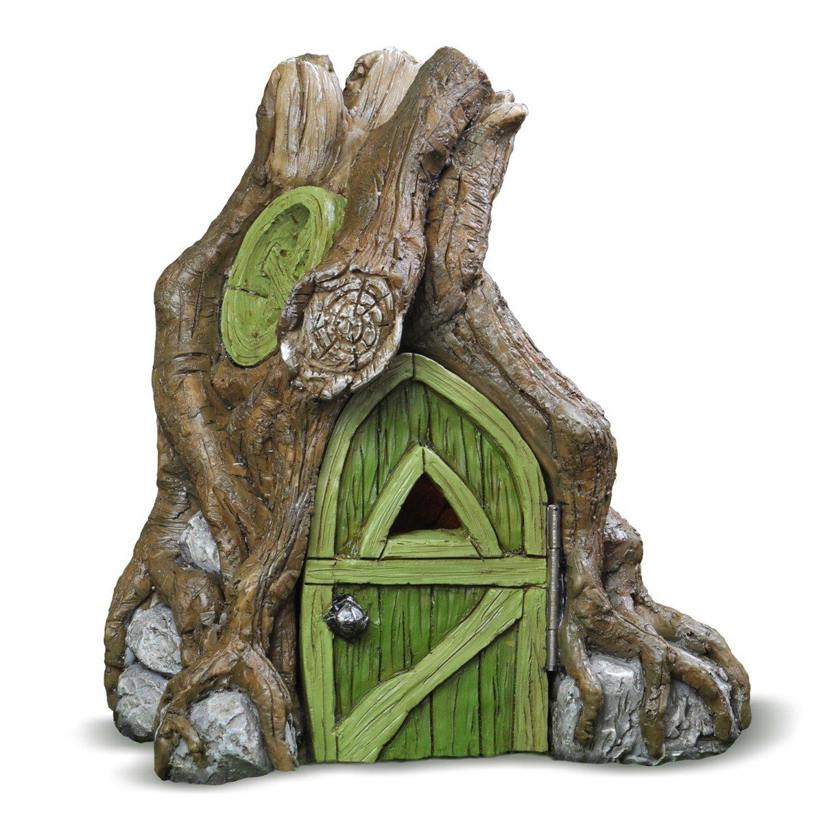 Georgetown Home Garden Miniature Fairy Root House Garden Decor ...
