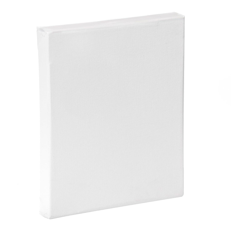 Lienzos Levante 04A3325017 - Bastidor entelado en algodón, tamaño 33 x 22 cm 4P, Listones DE 46 x 32 mm (3D) con imprimación acrílica 33x24 acrílico algodon ancho