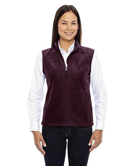 6d73ce7a5 Ash City Core 365 Ladies Journey Fleece Vest