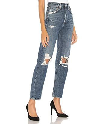 3e615b8350da7d Agolde Women's 90's Mid Rise Loose Fit Jeans, Psych at Amazon ...