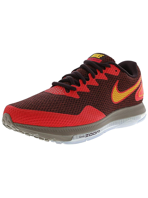 Port Wine Laser orange Nike Men's Zoom All Out Low, OBISIDIAN Paramount bluee-Black