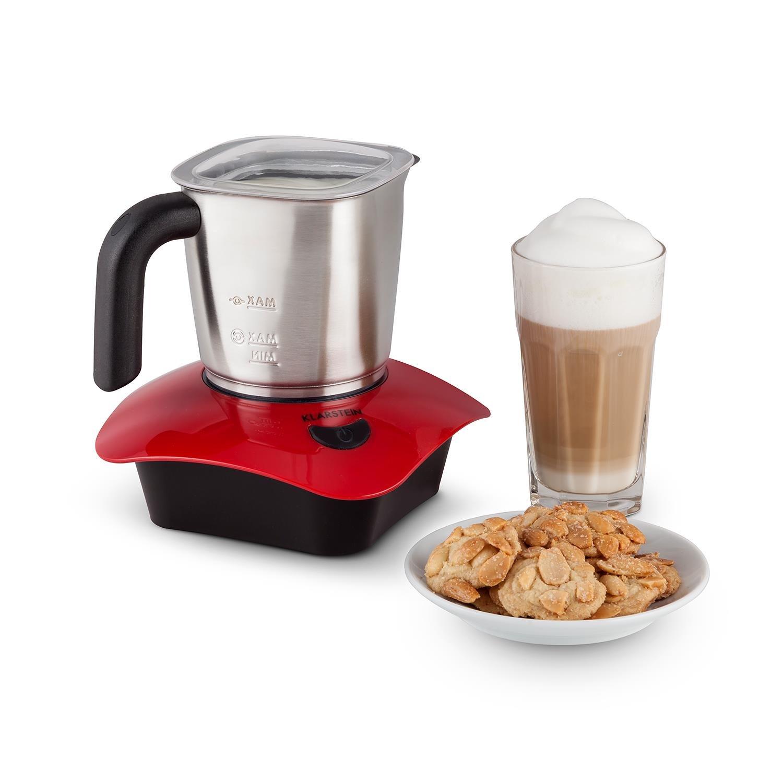 Klarstein Soprano Espumadora de leche  W potencia calentador de jarra inducción