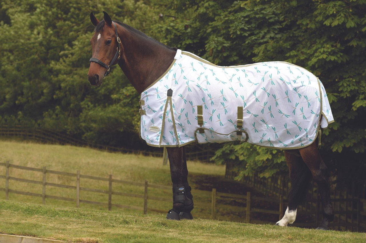 Weatherbeeta WB ComFiTec Essential Standard Neck Fly Sheet 78 by Weatherbeeta USA Inc (Image #1)