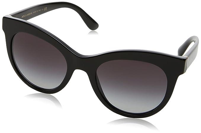 3cca95ef97 Dolce & Gabbana 0Dg4311 Gafas de sol, Black, 51 para Mujer: Amazon ...