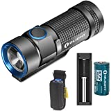 Bundle:Olight S1 Baton Waterproof Flashlight Cree Xm-l2 Cw LED 500 Lumens With Battery Charger and Olight Rcr123a Battery and Skyben Holster