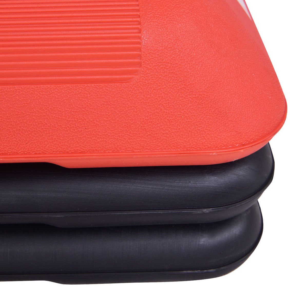 Red Trapezoid 43'' Aerobic Stepper Adjustable Height for Work Out by FDInspiration (Image #6)