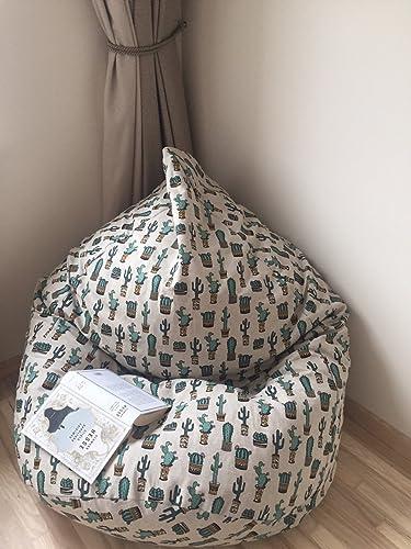 Stupendous Amazon Com Mini Cactus Succulents Bean Bag Chair For Teens Spiritservingveterans Wood Chair Design Ideas Spiritservingveteransorg