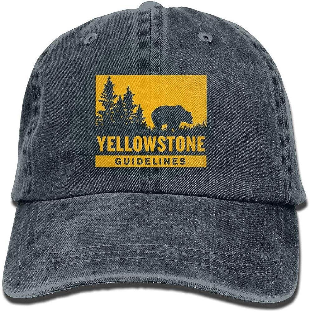 Jssmao Yellowstone National Park Adult Unisex COWBOY HAT