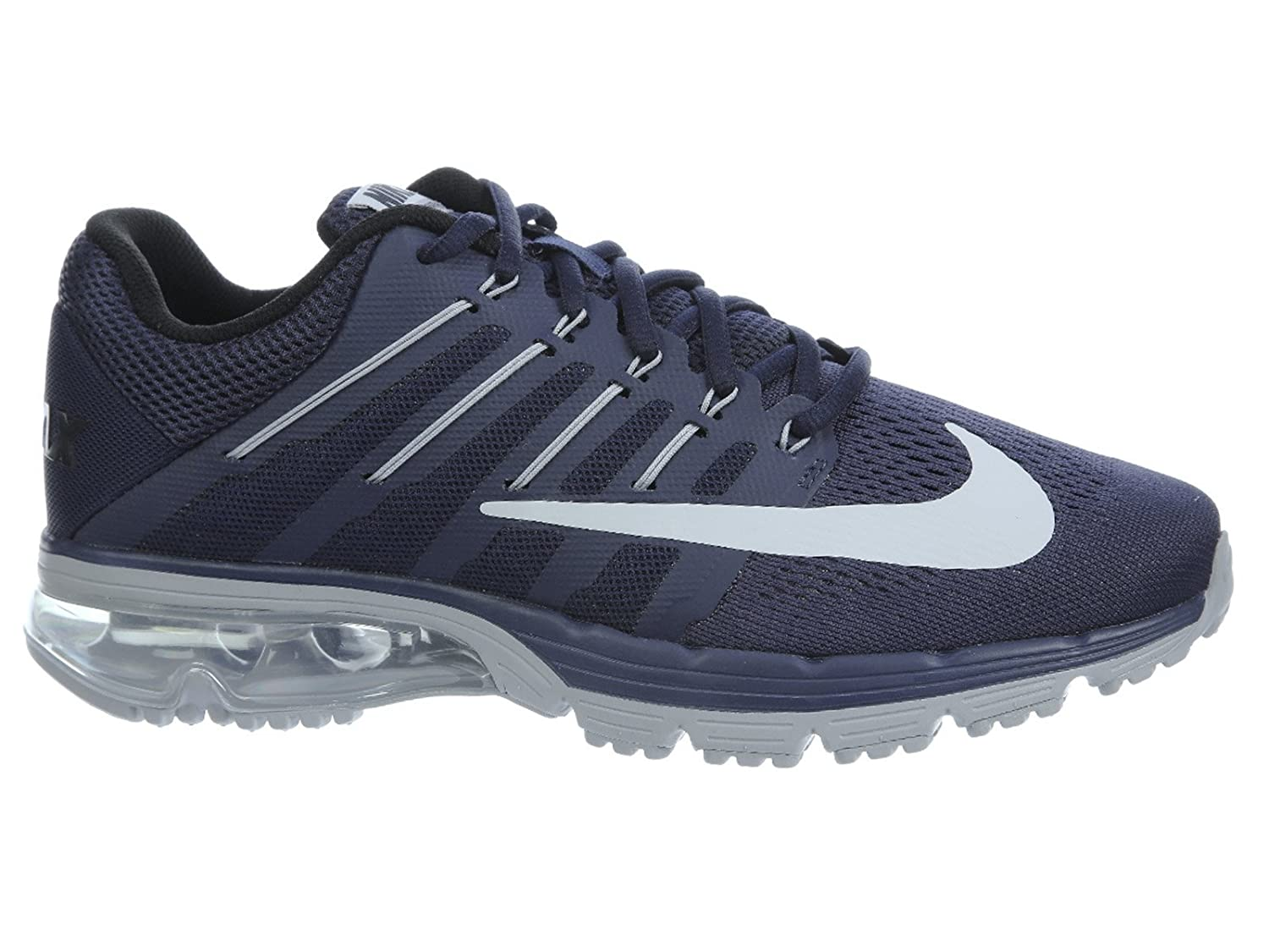 Nike Men's Air Max Excellerate 4 Midnight Navy/Wolf Grey/Black Shoe - 15 D(M) US