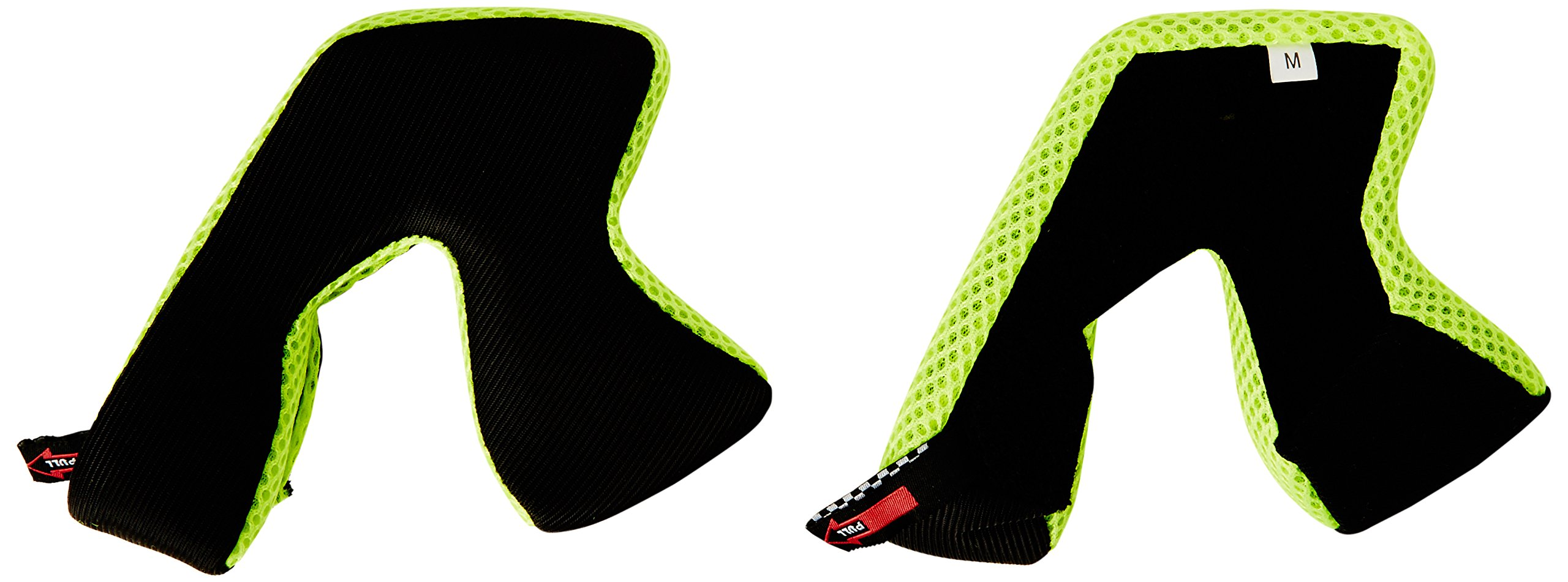 Troy Lee Designs Adult D3 Cheekpad BMX Helmet Accessories - Yellow / 2X-Large
