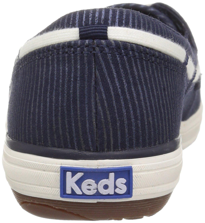 Keds Women's Glimmer Metallic Stripe Fashion Sneaker B01M1A2UHW 7.5 B(M) US|Peacoat Navy