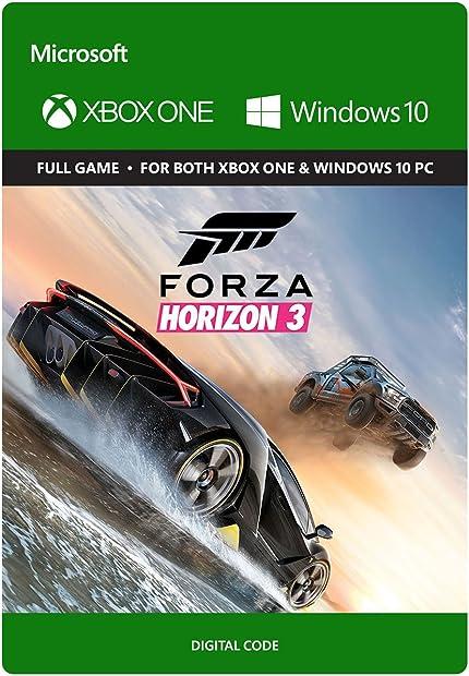 Amazon Com Forza Horizon 3 Xbox One Windows 10 Digital Code