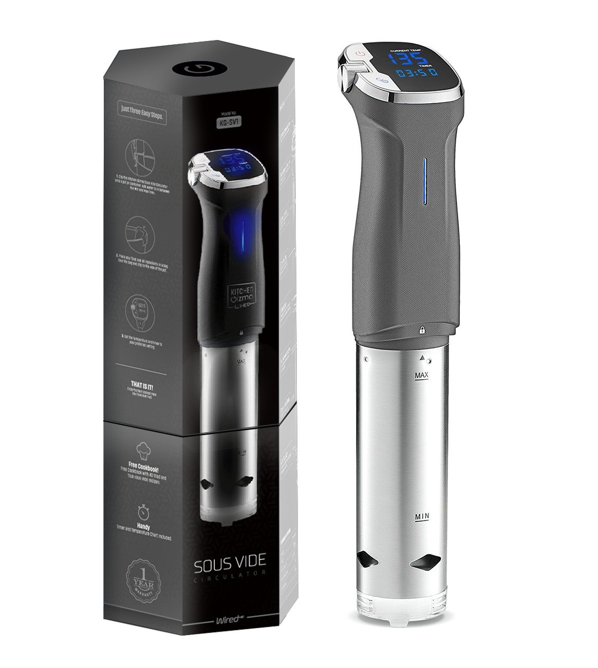 Kitchen Gizmo, Simplified Sous Vide Immersion Circulator Black Friday Deals