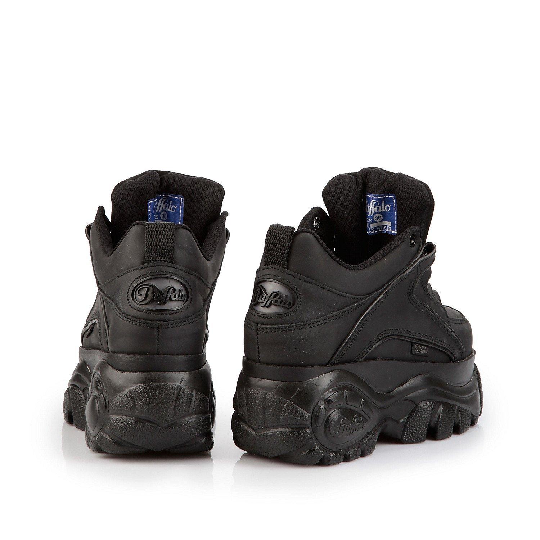 d721122c2b31 New Buffalo Classic Boots 1339-14 BLACK Platform Shoes Trainers Sizes UK  3-8 (UK 9   EU 42