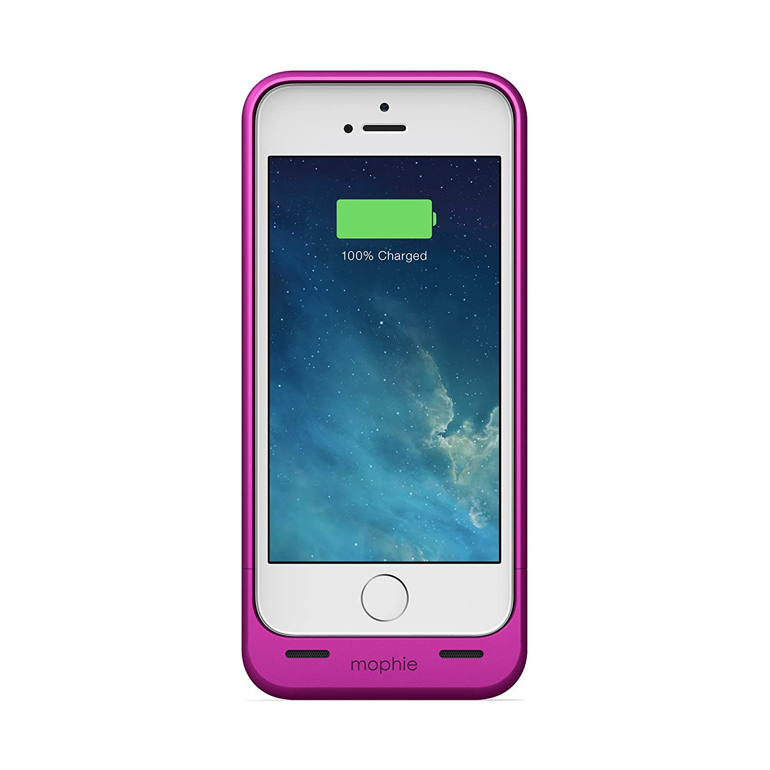 Mophie Extended Battery Case for iPhone 5/5S-Retail Packaging, Metallic Pink Sound Around MOP-2544-IP5PNKI