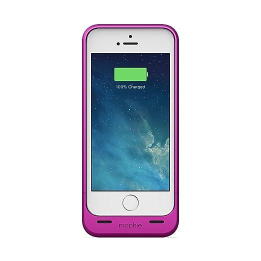 15 opinioni per Mophie Juice Pack Helium Custodia per iPhone 5/5S/5Se, Rosa/Metallico