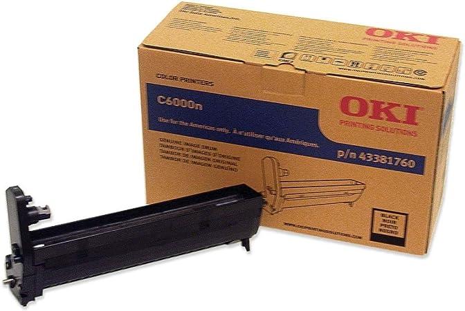 Amazon.com: OKI43381760 - Oki Black Image Drum For C6000n ...