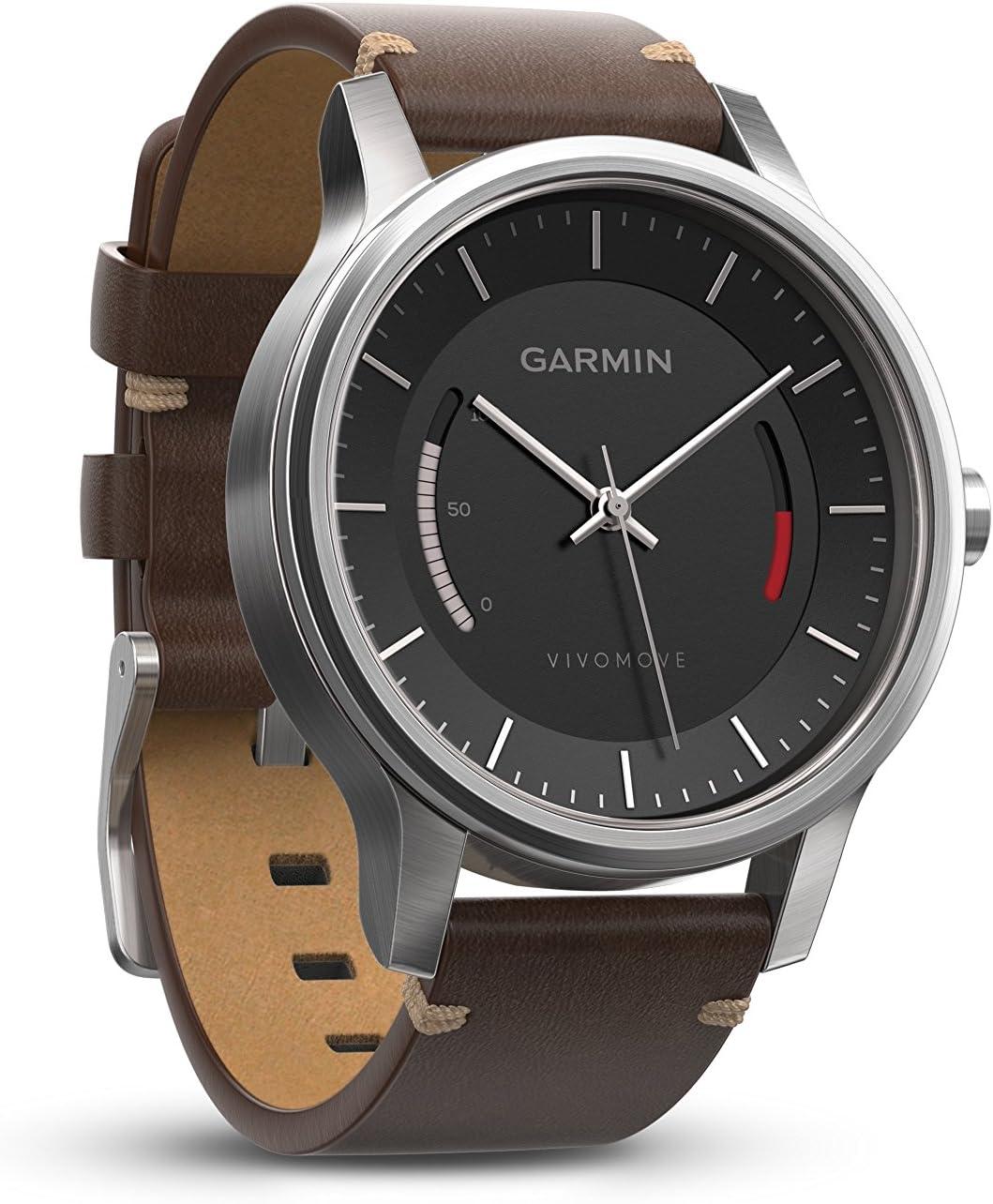 Garmin Vívomove Premium Reloj Deportivo, Negro, Talla Única