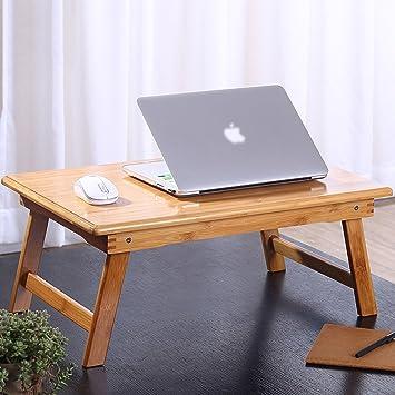 ILQ Mesa plegable pequeña, escritorio moderno y sencillo para ...