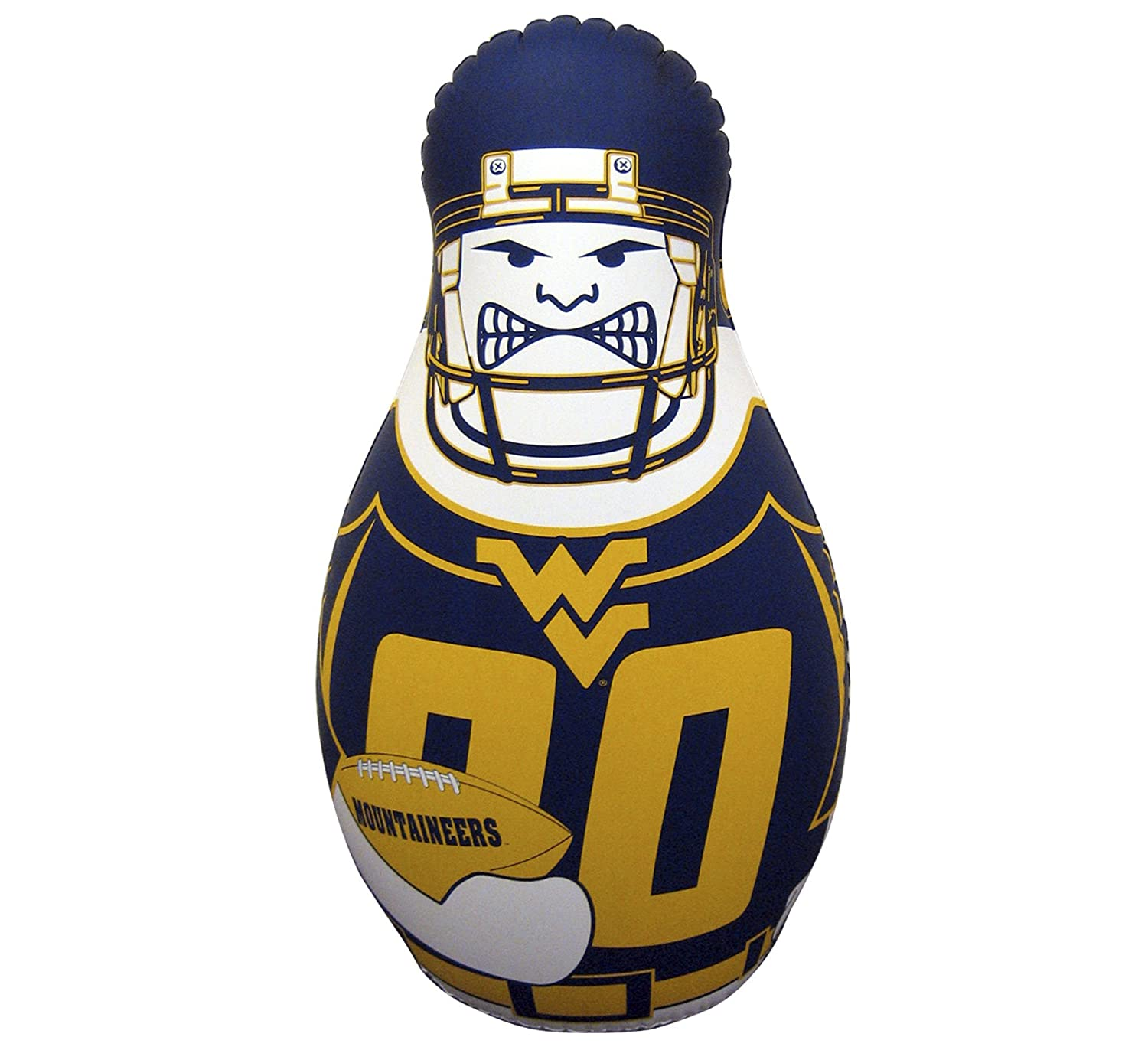 40-Inch Tall Fremont Die NCAA Tackle Buddy Inflatable Punching Bag