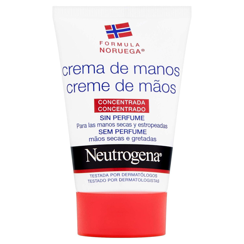 Neutrogena - Crema de Manos Concentrada Sin Perfume - Tubo de 50ml 2206766-1