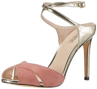 Monaco, Bride Cheville Femme - Rose - Pink (Make-Up Pink), 39Menbur