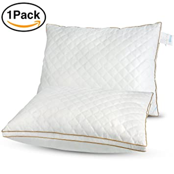pillow feather amazon getmojito standard white soft pillows down