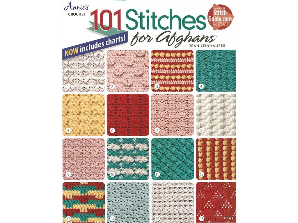 Annies ANN871533 Crochet Stitches for Afghan BK 101 Crochet Stitches for Afghans BK Annie' s Attic