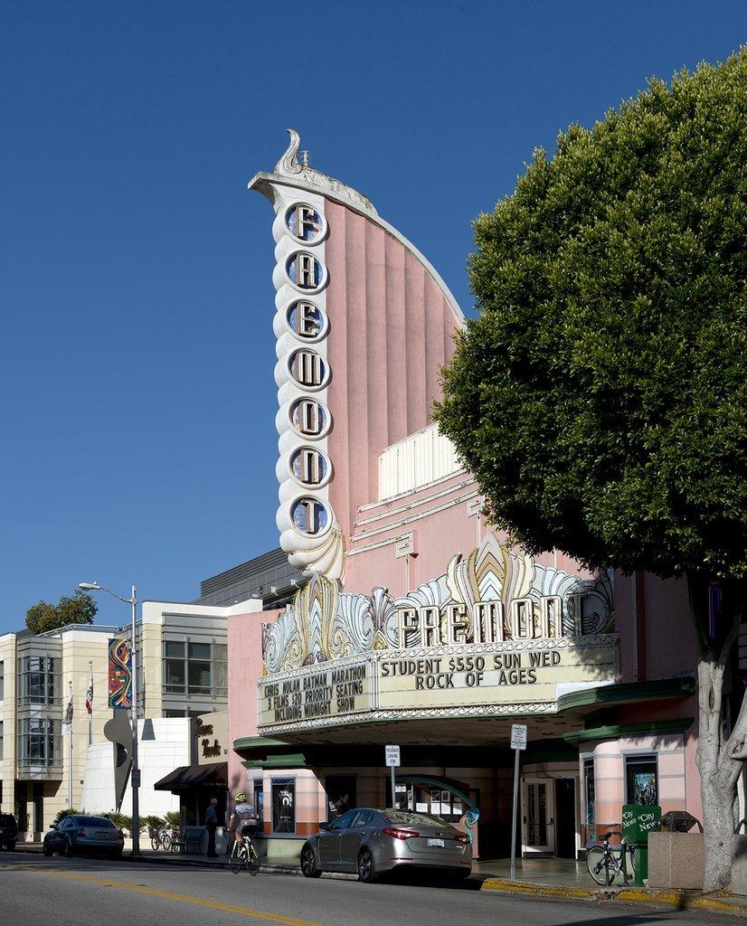 San Luis Obispo, CA Photo - The Fremont Theater is a historic movie theater in San Luis Obispo, CA - Carol Highsmith