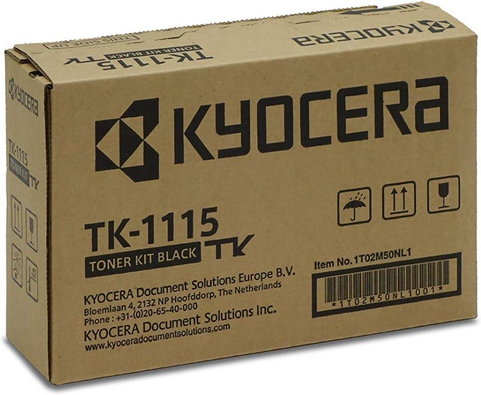 Kyocera Tk 1115 Original Toner Kartusche Schwarz 1t02m50nl0 Kompatibel Für Fs 1041 Fs 1220mfp Fs 1320mfp Bürobedarf Schreibwaren
