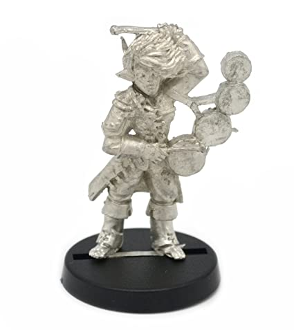 Amazoncom Stonehaven Half Orc Bard Miniature Figure For 28mm
