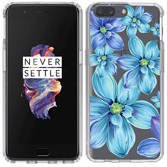 amazon com oneplus 5 case anbobo with flower clear design shock